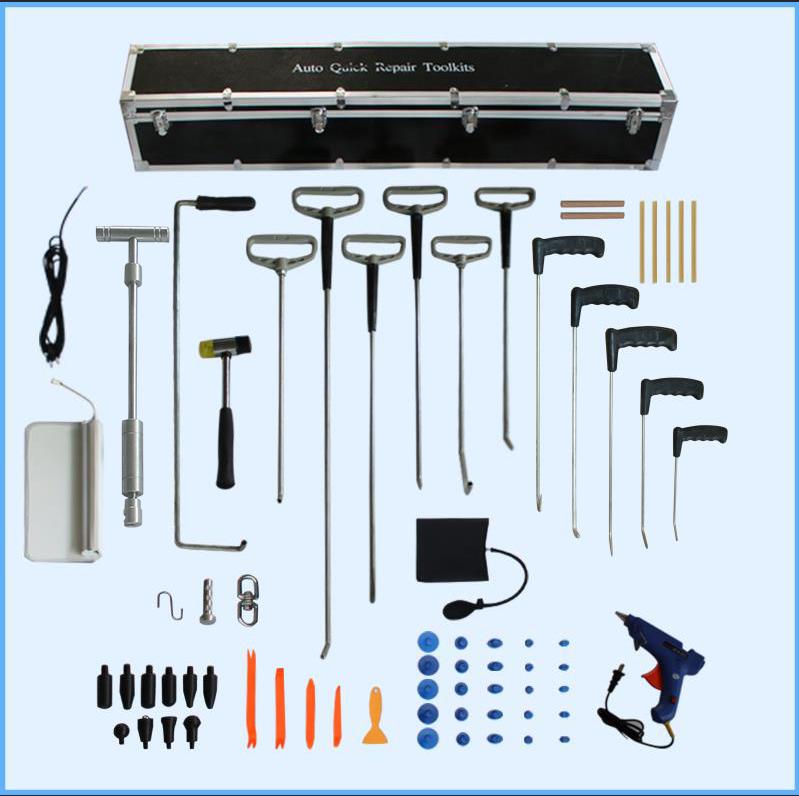 汽车免喷漆凹陷修复(三合一)工具(含12根顶钩)
