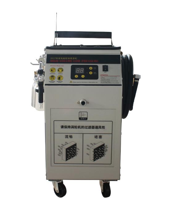 HVLP低压温风喷涂系统