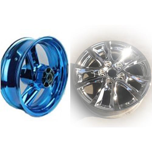 新型汽车轮毂仿电镀环保喷镀技术—纳米镜面气溶喷涂