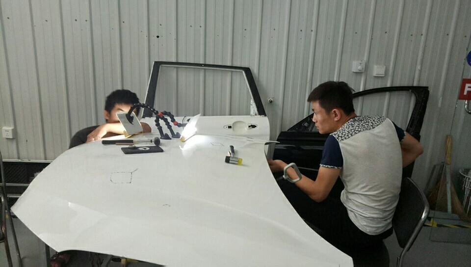 飞斯特汽车凹陷修复技术培训