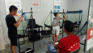 走进汽车挡风玻璃修复培训部,体验专业技术教学